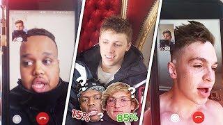 Youtubers Predict KSI vs Logan Paul Boxing Match