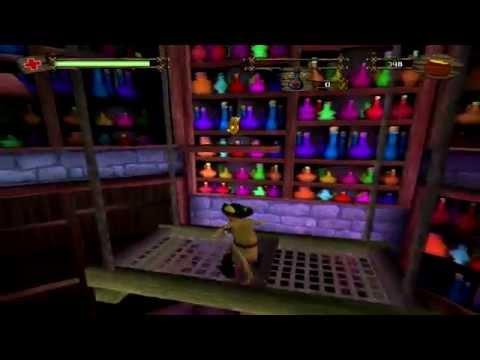 Прохождение Shrek 2 The Game #2 - Кот в сапогах и побег с фабрики