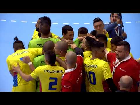 Pan Am 2018: Greenland vs Colombia (1:2) KNR 2018-06-16