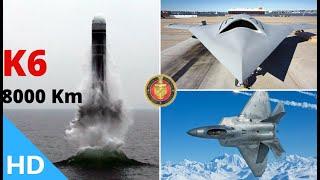 Indian Defence Updates : India Conducts Ghatak UCAV Ground Test,8000Km K6 SLBM,Tempest India-UK Deal