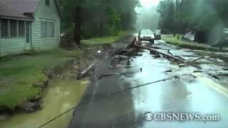 Irene's flooding overtakes Vermont town