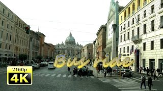 Rome, City Tour by Bus - Italy 4K Travel Channel