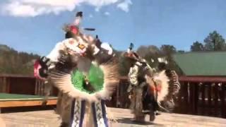 Lakota Indians dancing at Crazy Horse Memorial