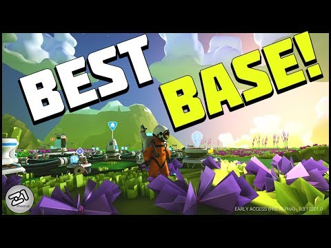 Building the PERFECT Base ! Best Astroneer Base Layout Z1 Gaming