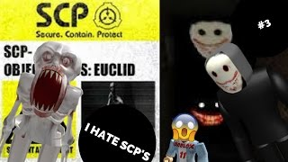 The Horror Elevator Roblox- I REALLY HATE SCP! (issa joke)
