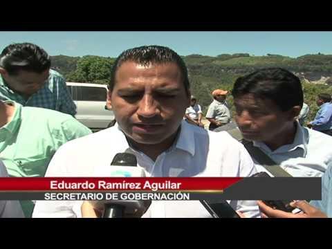 Firman SEGOB Chiapas y habitantes del ejido Puebla connvenio de entrega-recepción de predio