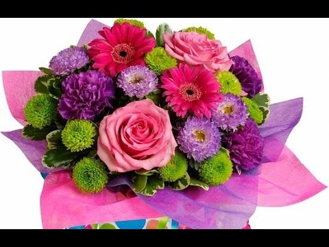 Permalink to Happy Birthday Bouquet And Gifts
