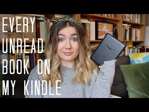 Every Unread Book On My Kindle | Ebook TBR