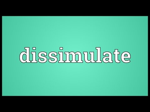 Header of dissimulate