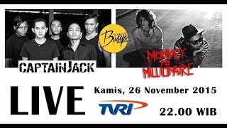 Monkey to Millionaire - Taman Buaya Beat Club TVRI - 26 November 2015