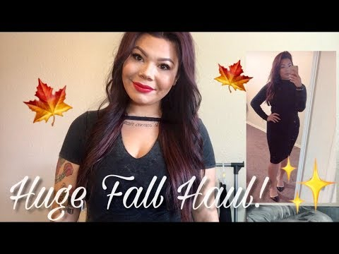 HUGE Collective Fall Haul!! | Tips on How to Save Money and Get Free Stuff!!