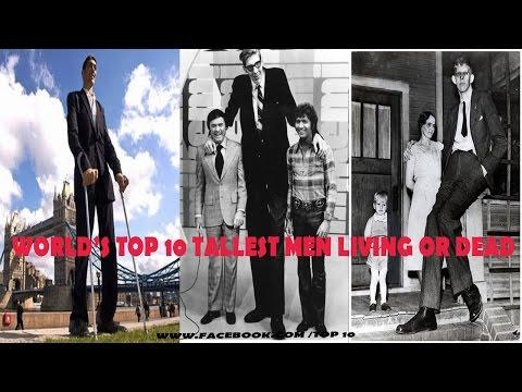 World's Top 10 Tallest Men Living or Dead