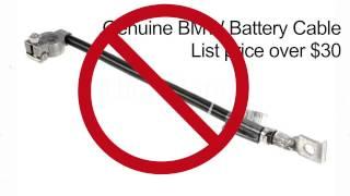 URO Parts BMW E46 / 3 Series Battery Cable Negative Bolt Part# 61 12 8 373 946 T