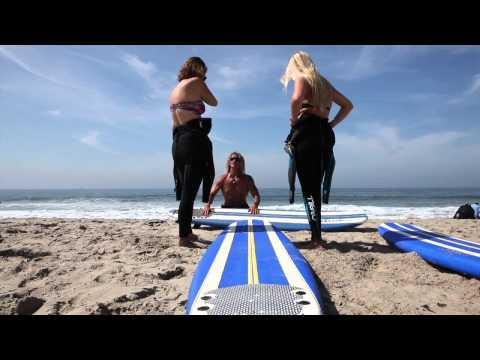Kapowui surf lesson Santa Monica / Venice beach California 310-985-4577