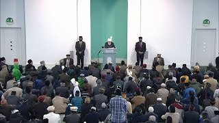 Cuma Hutbesi 30-10-2015 - Islam Ahmadiyya