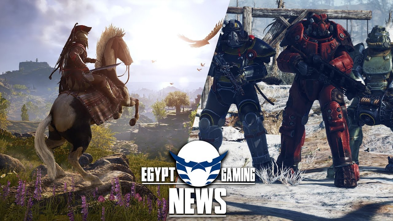 الحلقة 26 من EGN - مستقبل Assassin's Creed من بعد Odyssey و التلميح لـ Fallout 5