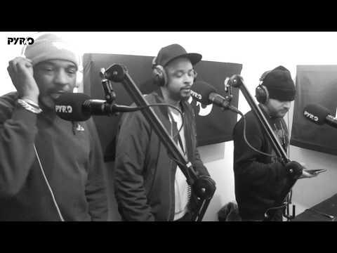 The Ragga Twins Crew In The Mix - PyroRadio - (27/11/2017)