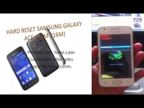 HARD RESET SAMSUNG GALAXY ACE 4 SM-316M(Samsung Galaxy S Duos 3)