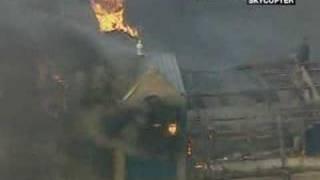 Blaze At Royal Marsden Hospital, London