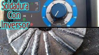 ¿Cuantas soldaduras o electrodos diferentes puede fundir o quemar una maquina inverter?