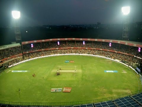RCB Boldbox - 150 feet above the Chinnaswamy stadium!
