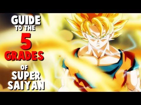 Guide to the 5 Grades of Super Saiyan