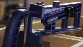Rockler Universal Drawer Slide Jig In Action By Hosey's Workshop