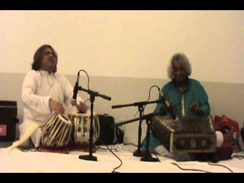 Hindole Majumdar in concert with Pandit Tarun Bhattacharya Live in Milwaekee USA