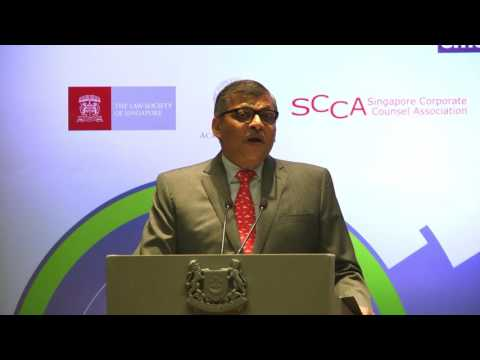 Inaugural Address of the GPC Series by the Chief Justice of Singapore, Sundaresh Menon