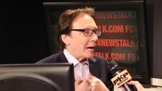 ALAN COLMES talks 2016 Presidential Candidates w/ PAVLINA FOX Studios NYC