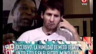 Duro de Domar - La humildad de Messi desató un tole tole en el fútbol mundial 18-10-11