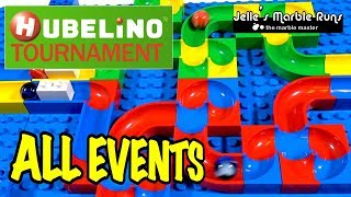 Hubelino Marble Race Tournament 2016 - All events