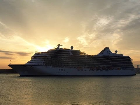 """Oceana"", ""Balmoral"" & ""Marina"" depart from Southampton - 27/09/2013"