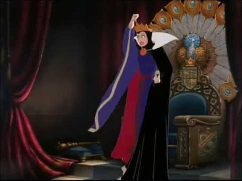 The Evil Queen orders the Huntsman to take Snow White into the woods and kill her!!!