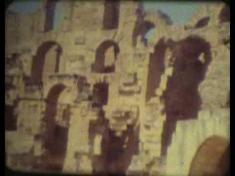 Tunisia travel film 1967 part 4