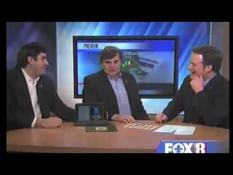 George and Jacques Rodrigue Discuss Scholarship Art Contest