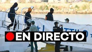 Directo: Llegan a València los migrantes de la flotilla del Aquarius thumbnail