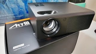 ARTLII HD ENERGON 1 - 720p Home Cinema LED Video Projector - Any Good?