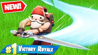 Can You WIN WITH ONLY THE SWORD? in Fortnite Battle Royale Season 7