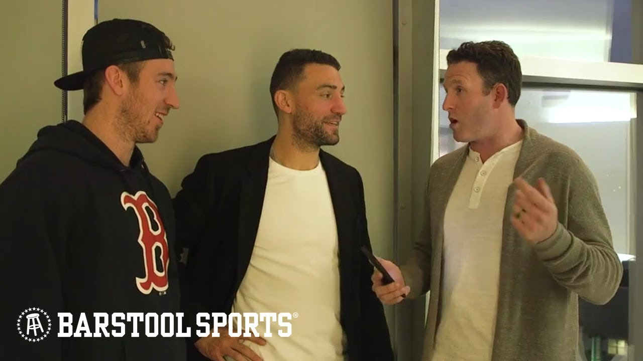 1fe815d4630ff BizNasty and Ryan Whitney Get A Tour of Kevin Hayes New York Crib. Barstool  Sports
