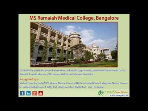 MS Ramaiah Medical College Bangalore [Direct MBBS Admission]