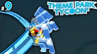 Theme Park Tycoon! Ep. 9: INVERTED COASTER!! | Roblox