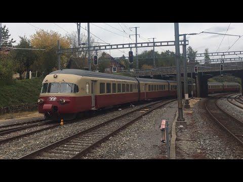 TEE Trans Europ Express en Suisse romande - 30 septembre 2017 - Transports Publics Suisses