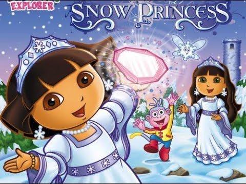 Dora saves the snow princess movie episode 4 run time 26 minutes youtube - Princesse dora ...