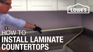Installing laminate countertops is the last step in this series to update your kitchen. For detailed instructions on this diy laminate