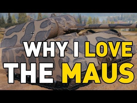Why I LOVE the MAUS in World of Tanks! thumbnail
