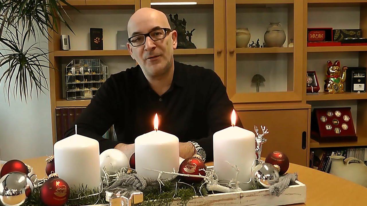 Das Münzenversandhaus Reppa Wünscht Frohe Weihnachten Youtube