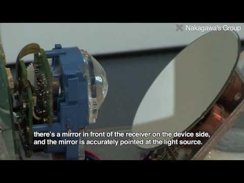 Visible Light Communication System : Nakagawa Group