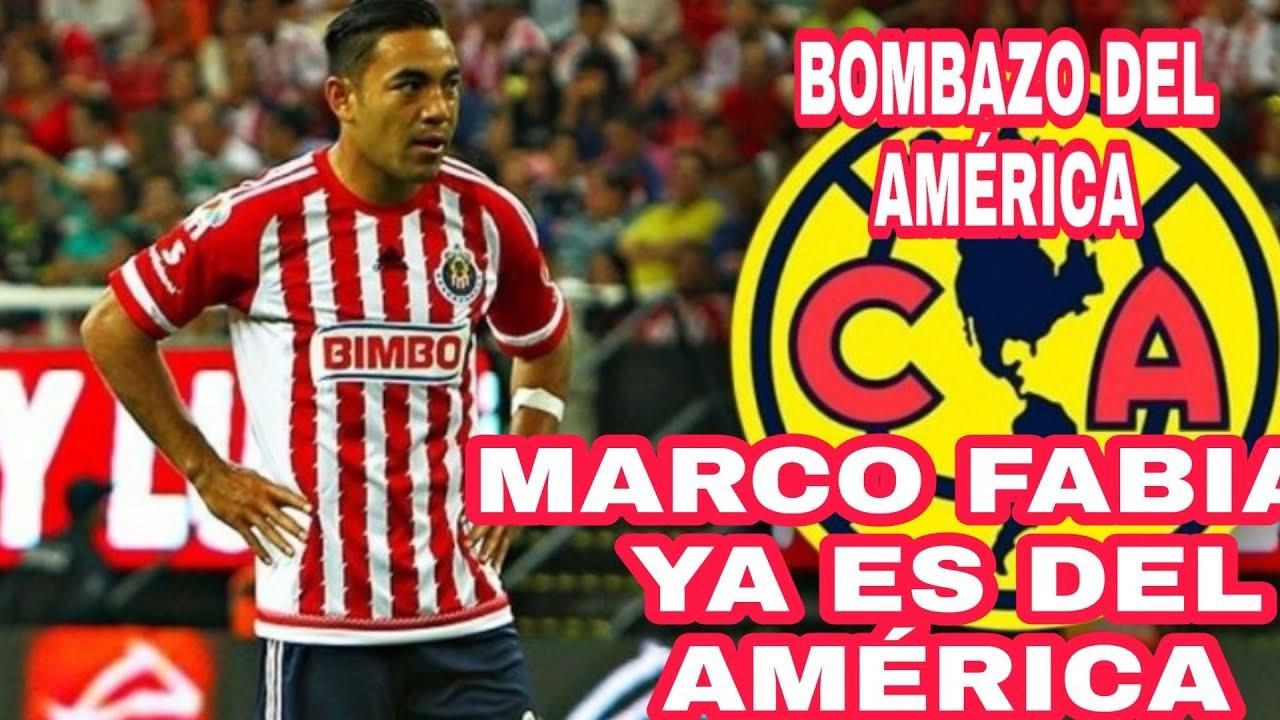 !!OFICIAL MARCO FABIÁN YA ES DEL AMÉRICA BOMBAZO AZUL CREMA!!