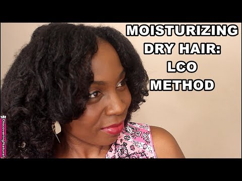 How to Moisturize and Hydrate Dry Natural Hair : LCO Method